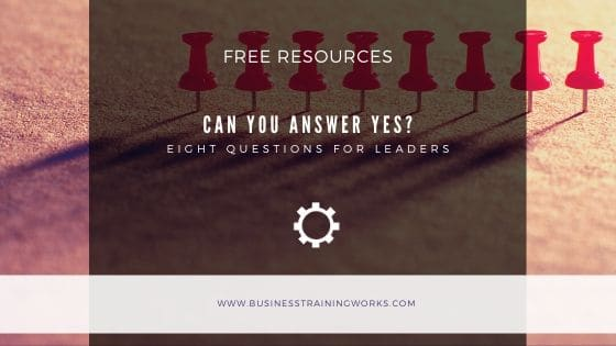 Eight Leadership Questions