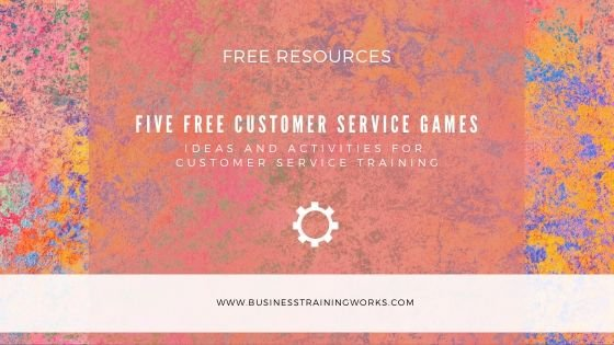 Five Free Customer Service Training Activities