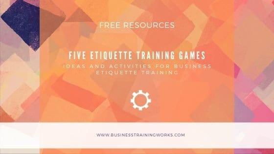 Five Free Etiquette Games