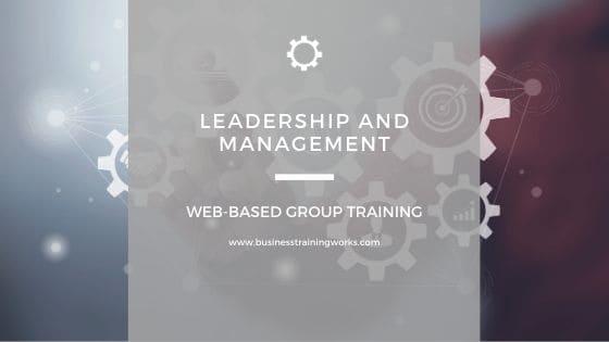 Leadership and Management Webinars