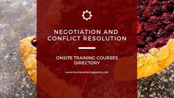 Negotiation Courses