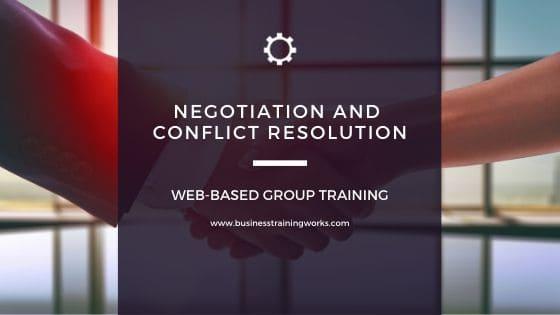 Negotiation Webinars