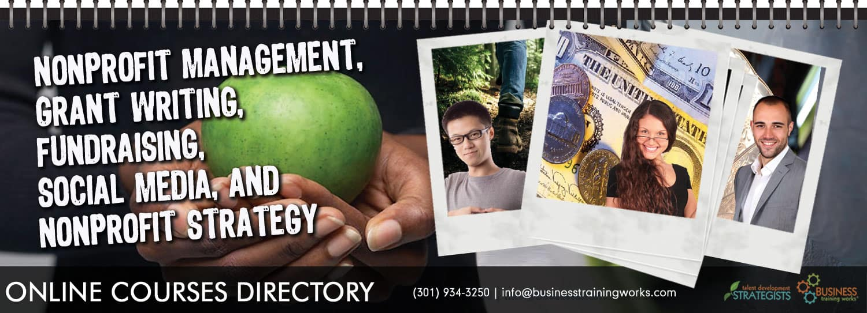 Online nonprofit management courses directory business training onsite training courses xflitez Gallery
