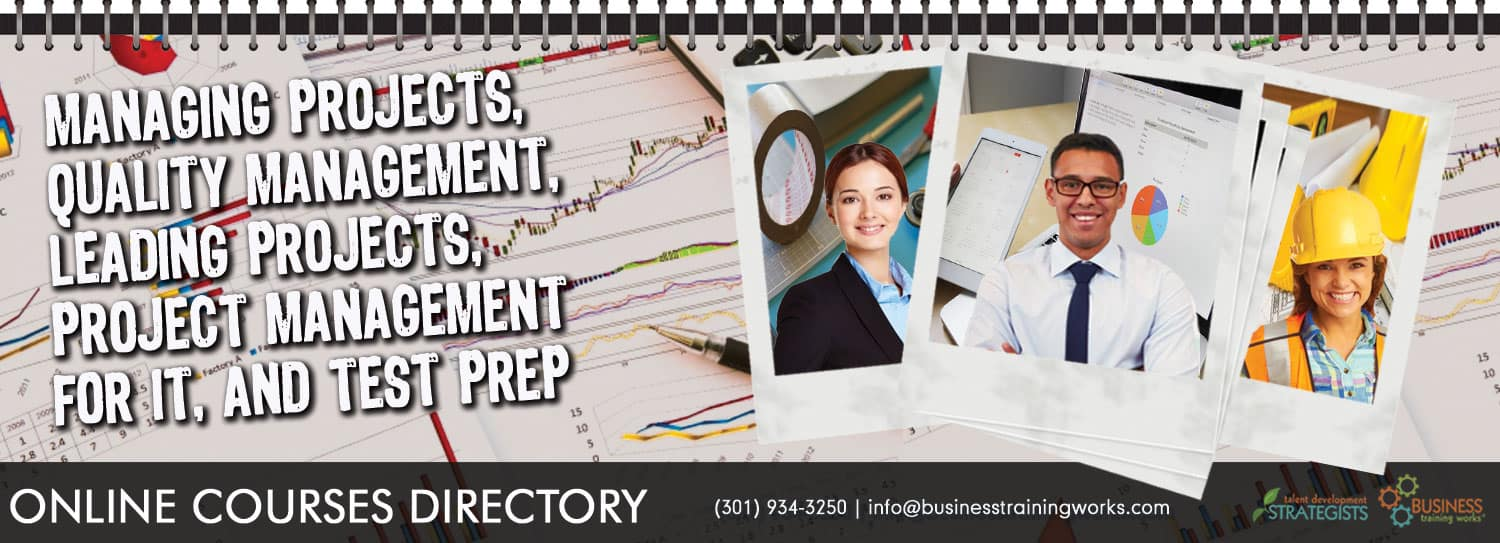 Online project management courses directory business training works onsite training courses xflitez Gallery