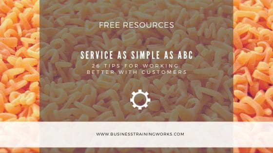The ABCs of Customer Service