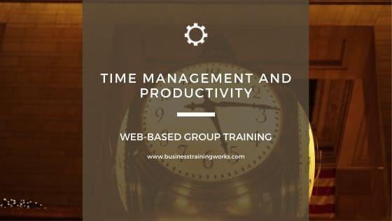 Time Management Webinars