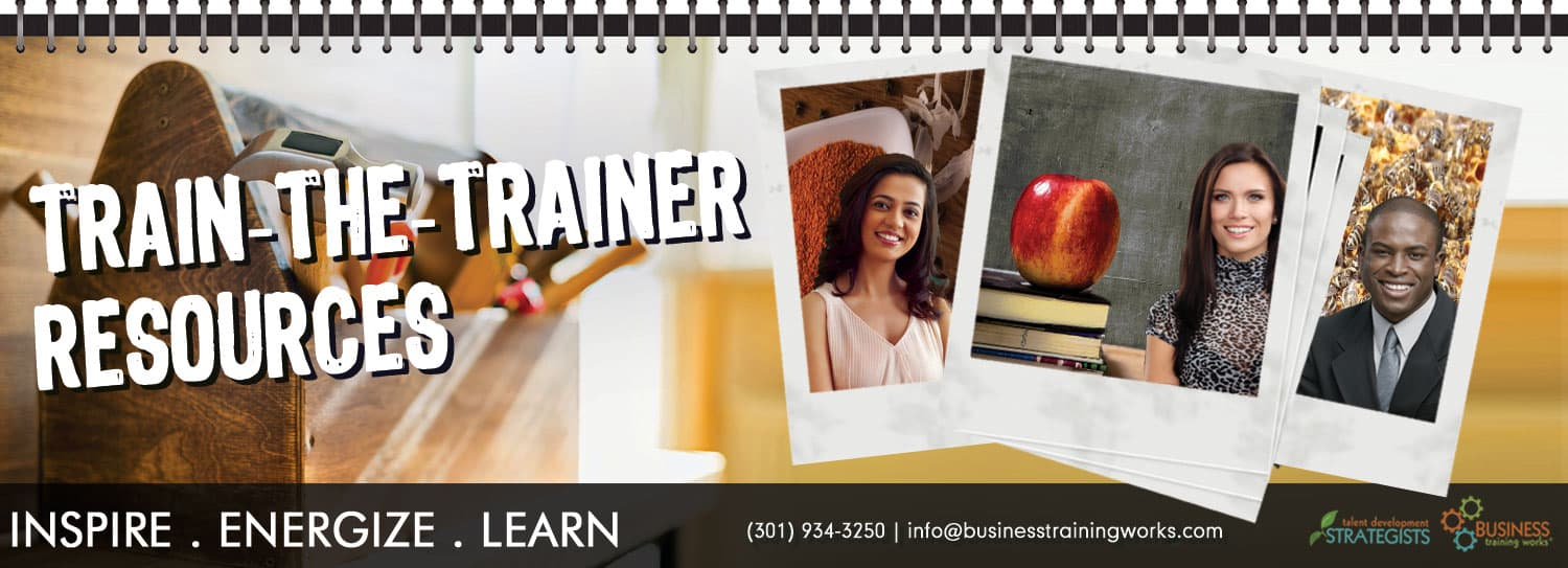 Train-the-Trainer Resouces, Course Material