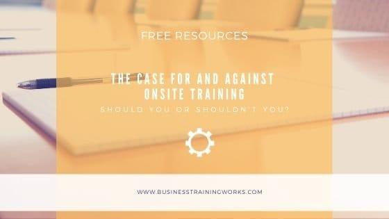 Understanding Onsite Training