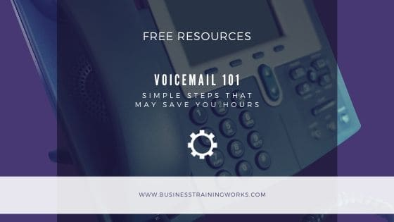Voicemail Tips