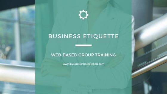 Workplace Etiquette Webinars
