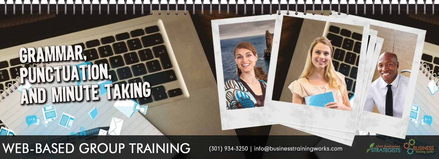 Business Writing Webinar, Virtual Classroom, Instructor-Lead Program